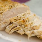 This versatile chicken breast is quick, easy and it literally melts in your mouth! Serve it for dinner or store it in the freezer until needed!