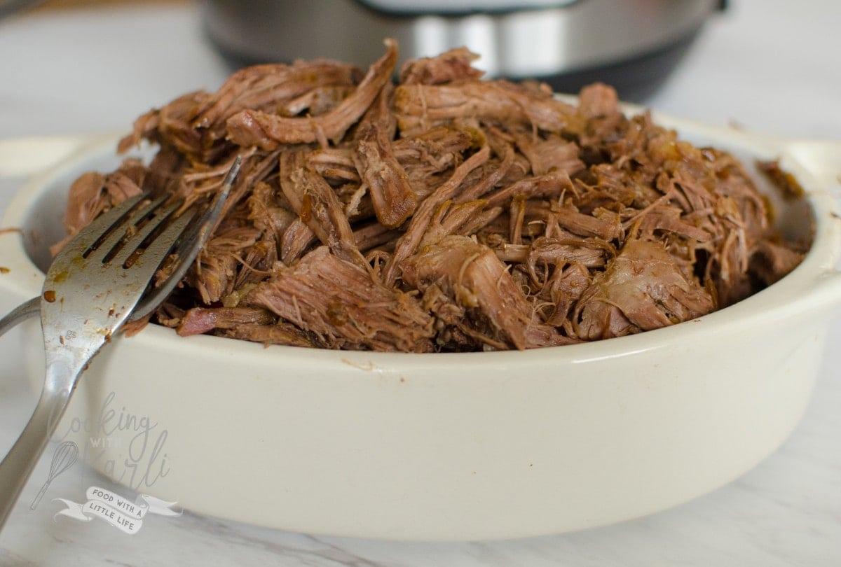 This versatile Shredded Beef will be the star of a variety of meals sure to please the whole family!