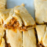 This version of a Sloppy Joe is a little less sloppy but delicious all the same. Perfect for little hands and mouths!