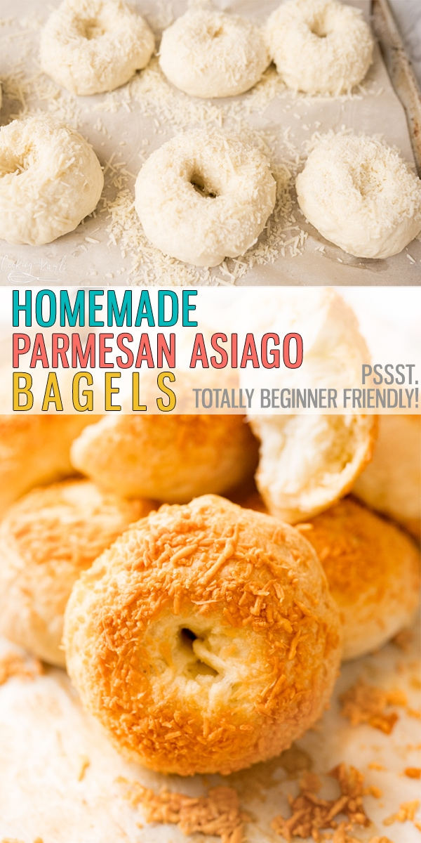 Easy Asiago Cheese Bagels are chewy, full of flavor and easy to make. Utilizing the Instant Pot makes this recipe FAST! Say goodbye to store-bought bagels, it's time to make them homemade! |Cooking with Karli| #asiago #bagel #bagelrecipe #easy #bagel #breakfastrecipe #homemade #easy