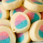 You are here: Home / Dessert / Easter Slice 'n Bake Sugar Cookies Easter Slice 'n Bake Sugar Cookies 5 · Mar 5, 2018 · Leave a Comment (Edit) Share 8 Pin 72 Tweet Stumble +1 SHARES 80 Easter Slice 'n Bake Sugar Cookies will win over the crowd at any Easter party! The bright colors are so fun and festive!