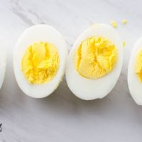 Instant Pot Hard Boiled Eggs- you'll never make them any other way again! It's as easy as 5-5-5. Five minutes High pressure, five minute Natural Pressure Release (NPR), five minute ice bath for perfect eggs that peel like a dream!