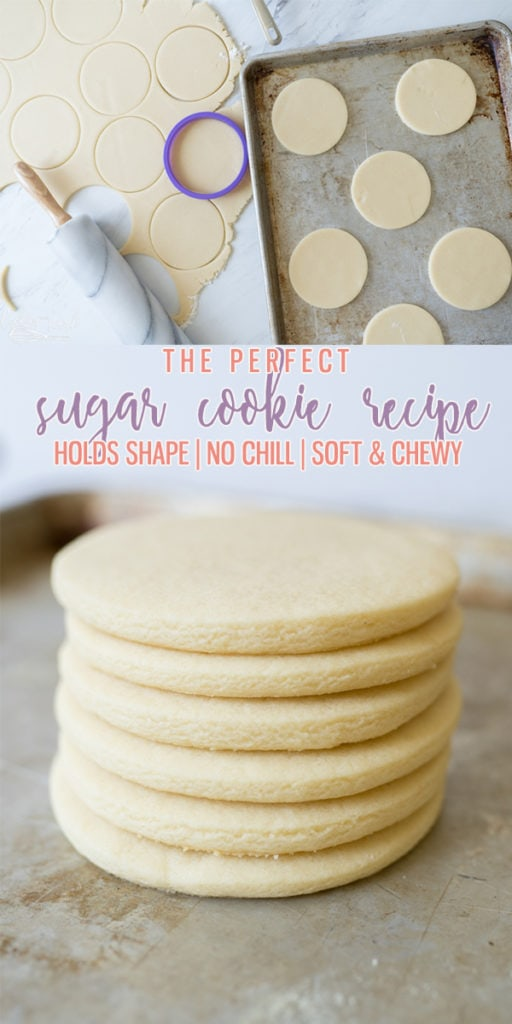 The only Sugar Cookie Recipe you need! Holds shape, No chill time, Super soft!! I've been making these for years!! |Cooking with Karli| #sugarcookies #softcookies #soft #chewy #holdsshape #nochill