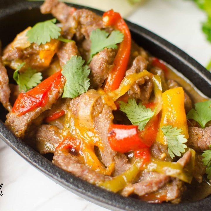 Instant Pot Steak Fajitas