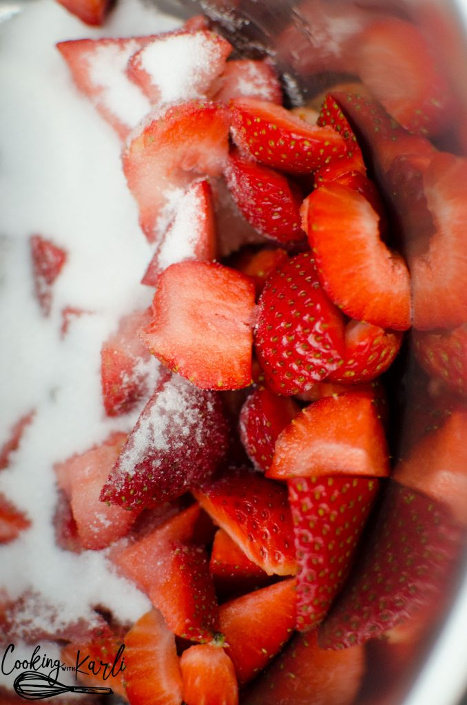 Instant Pot Strawberry Jam 2.0 is made of just three ingredients: Strawberries, sugar and cornstarch. The strawberry flavor shines bright in this jam that you'll be eating by the spoonful!