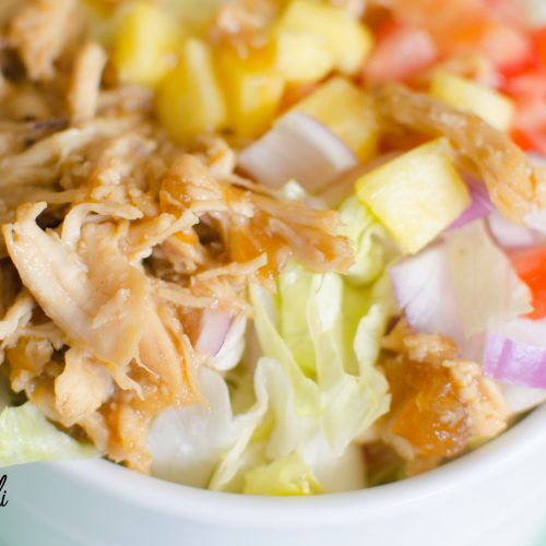 Teriyaki Chicken Chopped Salad