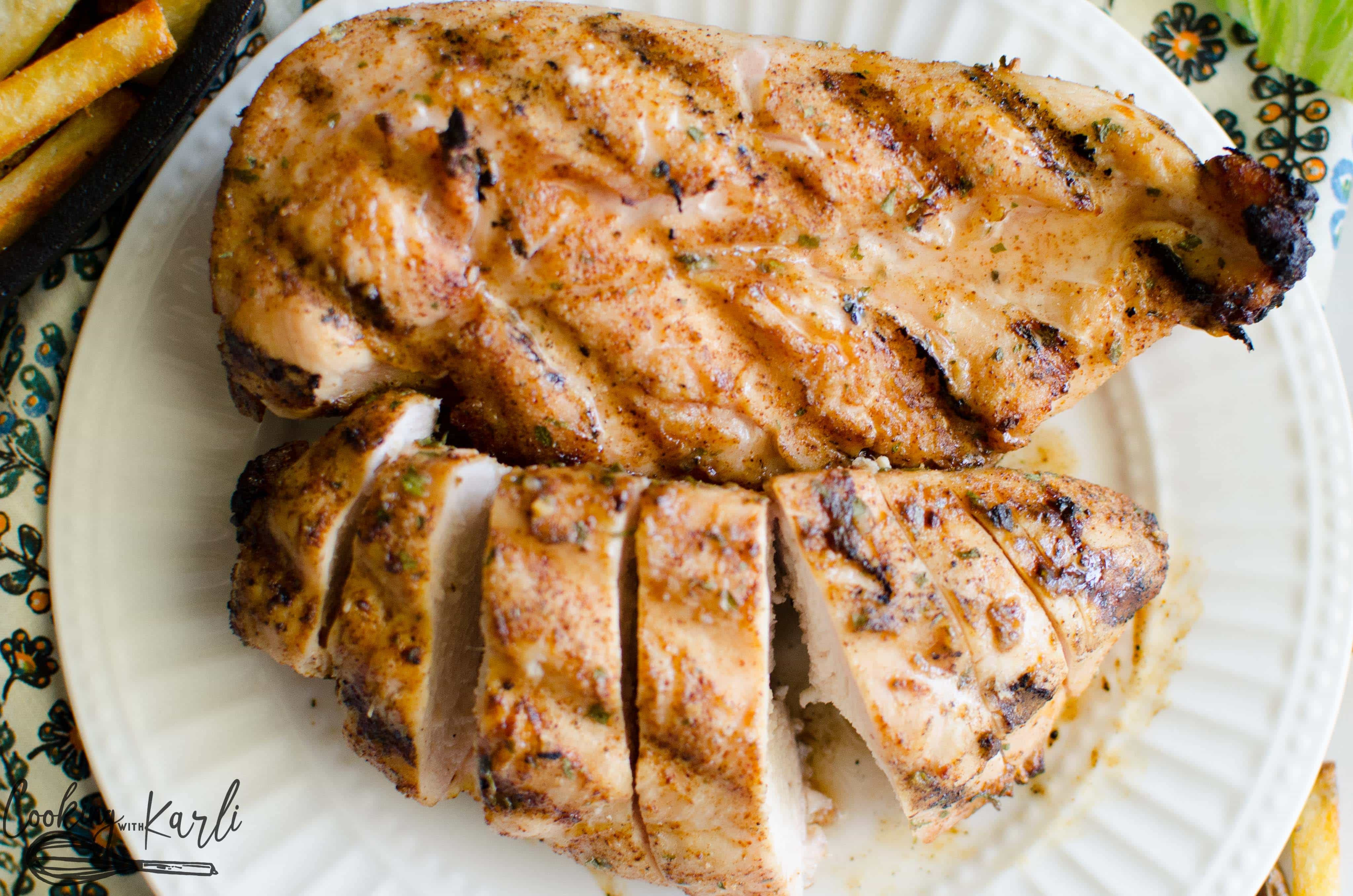 Dry rubs are a great way to pack flavor onto grilled chicken.
