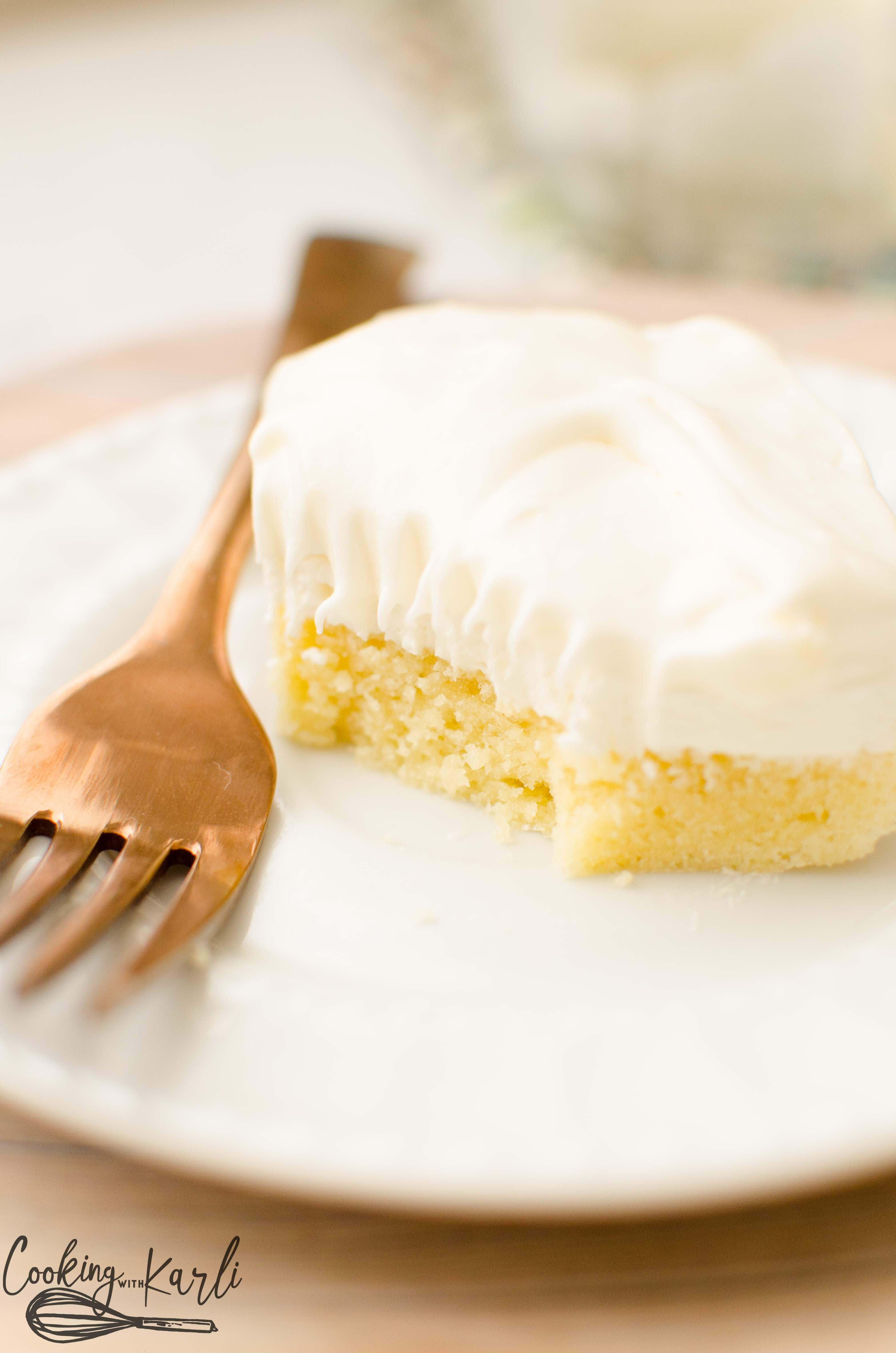 Vanilla lush cake will be your go to dessert for pot lucks and get togethers.
