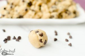 Edible Egg Free Cookie Dough is made for EATING! The taste and texture is just like the real deal- no one will be able to tell the difference!