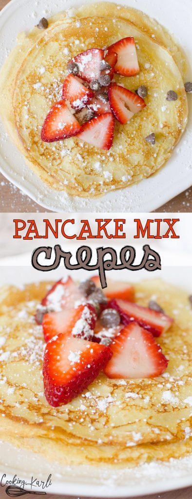 Easy Pancake Mix Crepes Cooking With Karli