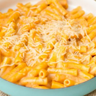 One Pot Creamy Ziti Pasta Bake