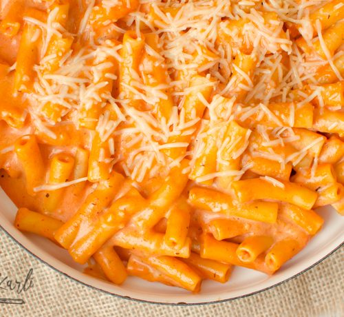 5 cheese ziti copy cat made all in one pan.