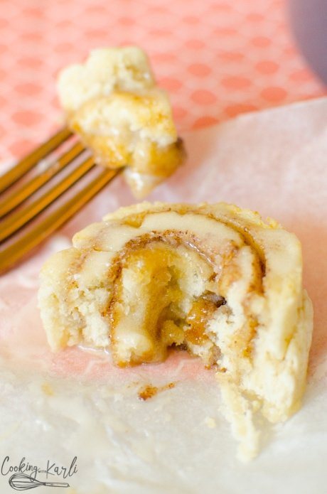 Instant Pot Cinnamon Rolls made from Pancake mix are easy and fast.