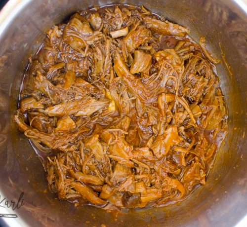 Cafe Rio Sweet Pork made in the Instant Pot