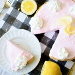 Pink lemonade pie is the perfect summer dessert.