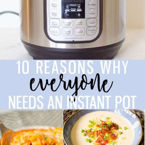 10 Reasons why EVERYONE needs an Instant Pot!! Instant Pot Review 2018- Cooking with Karli- #instantpot #review #duo #6qt