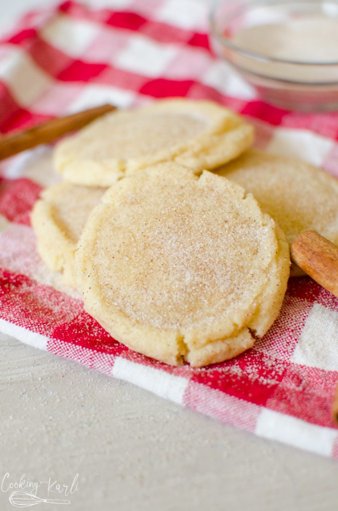 easy snickerdoodle recipe