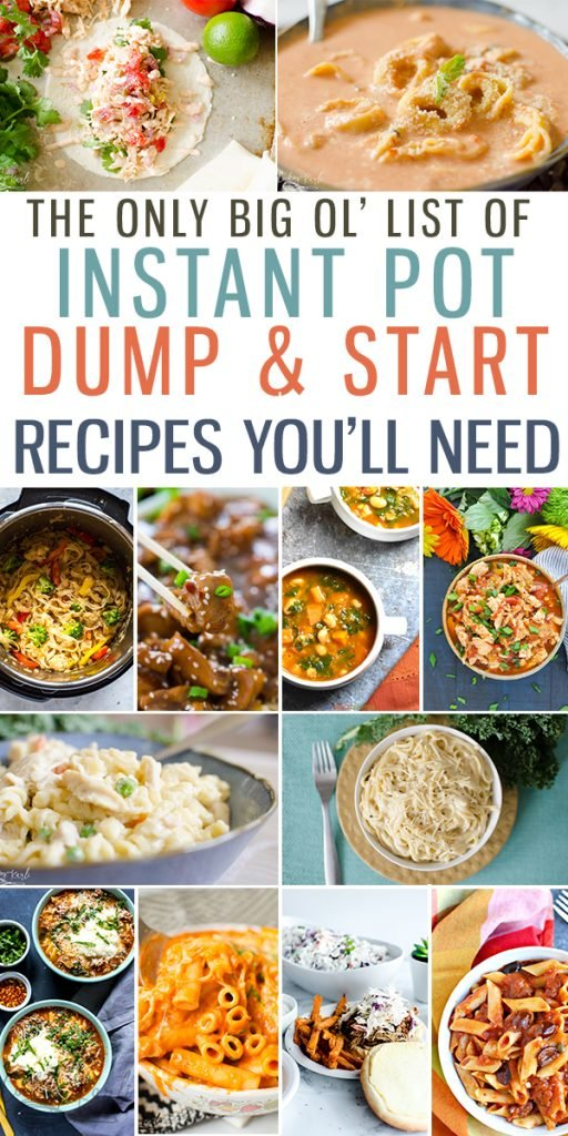 Top 25 Instant Pot Dump And Start Recipes Cooking With Karli