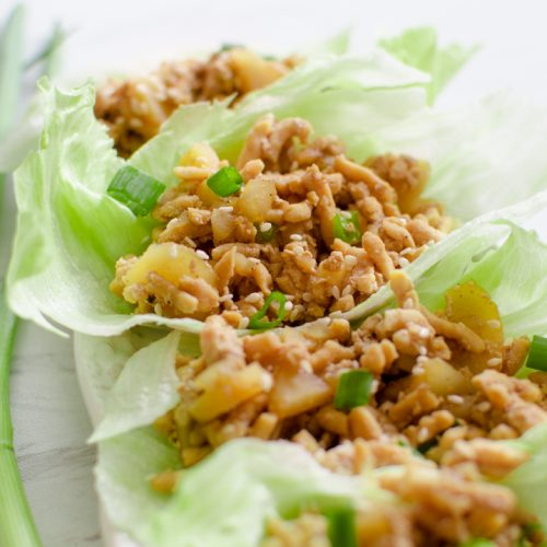 pf Changs chicken lettuce wrap made in the Instant Pot