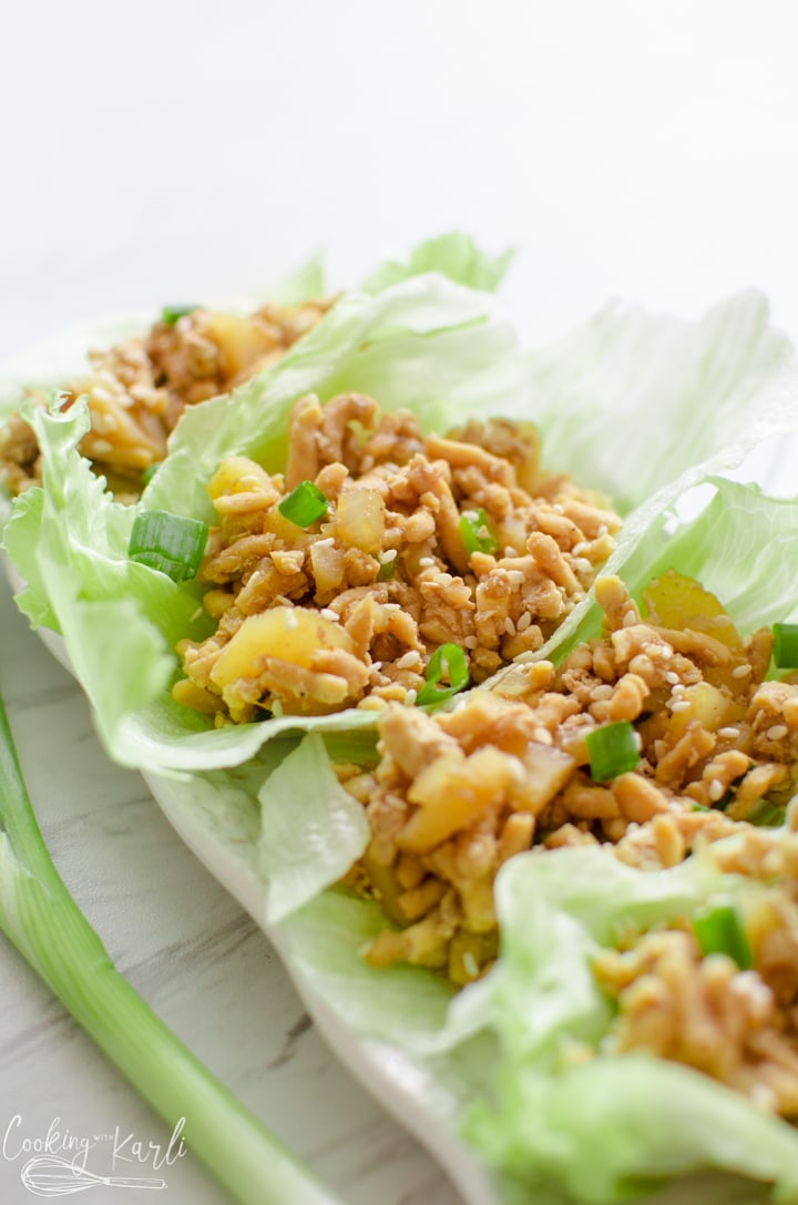pf Chang's chicken lettuce wraps made in the Instant Pot