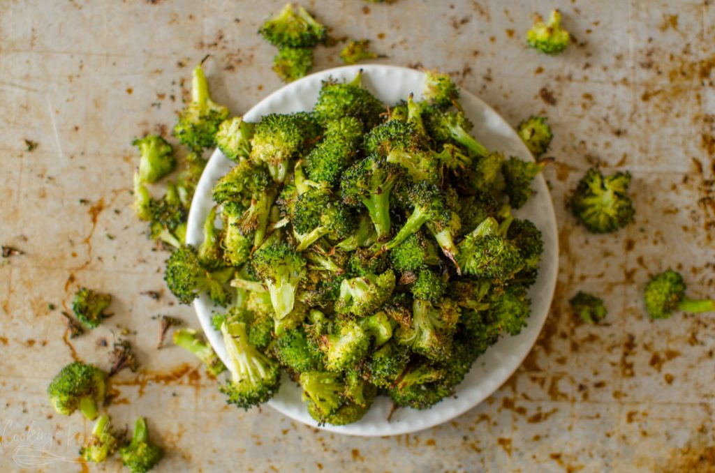 oven roasted broccoli recipe final photo