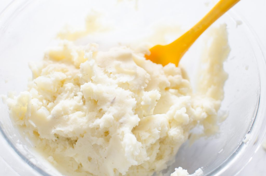 mashed potatoes for the shepherds pie