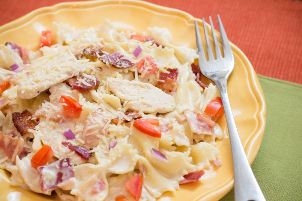 Instant Pot recipes- chicken carbonara
