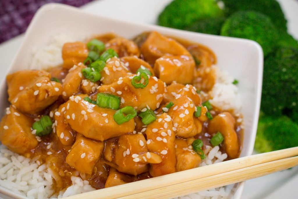 Instant Pot recipes- honey garlic chicken