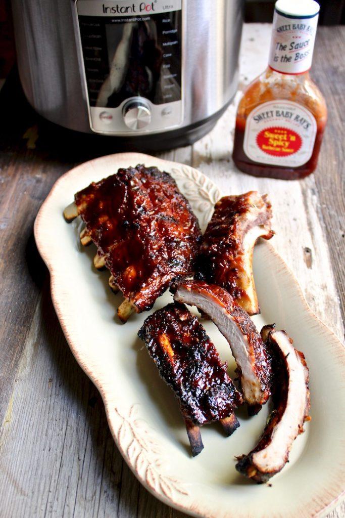 Instant Pot Recipes- bbq ribs