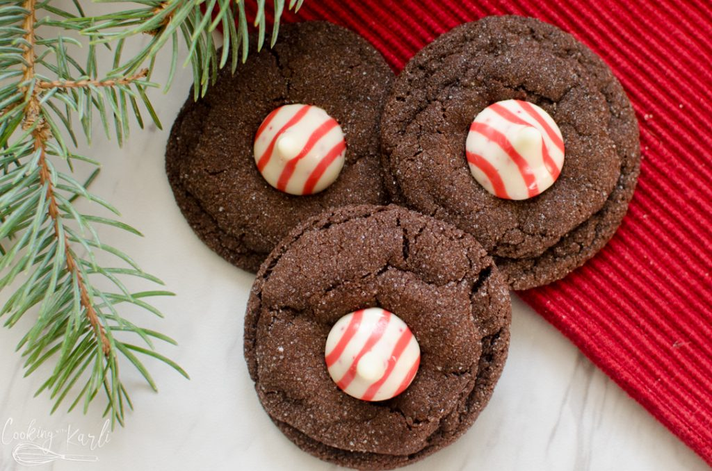 Chocolate Peppermint Blossom Cookies Cooking With Karli