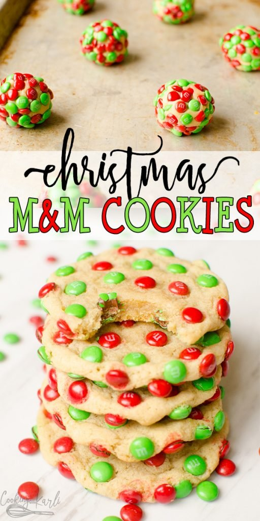 M M Christmas Cookies Cooking With Karli