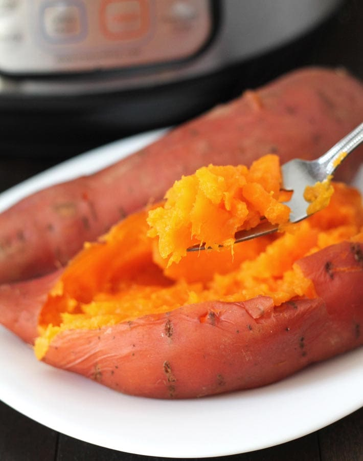 Instant Pot recipe- sweet potatoes