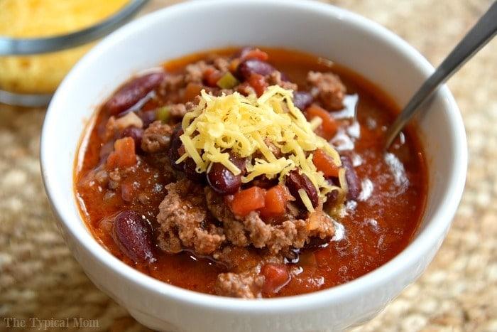 Instant Pot recipes- chili
