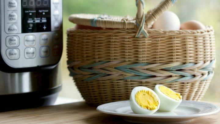 Instant Pot recipe- hard boiled eggs
