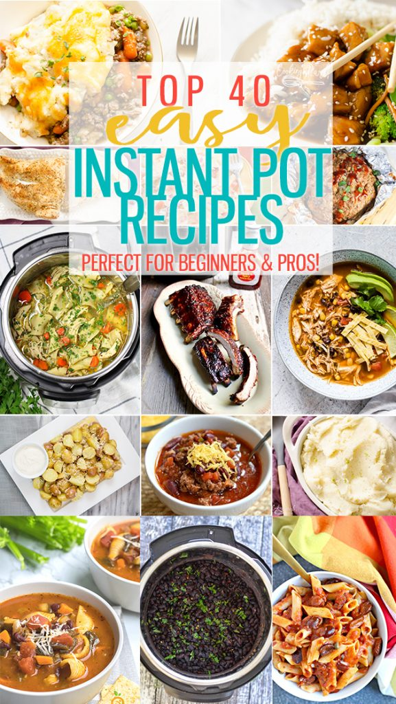 Round up of great EASY Instant Pot Recipes! Perfect for beginners and pros alike! |Cooking with Karli| #instantpotrecipes #instantpotrecipe #instantpot #beginner #recipe #easy #fast #dinner #dinnerideas