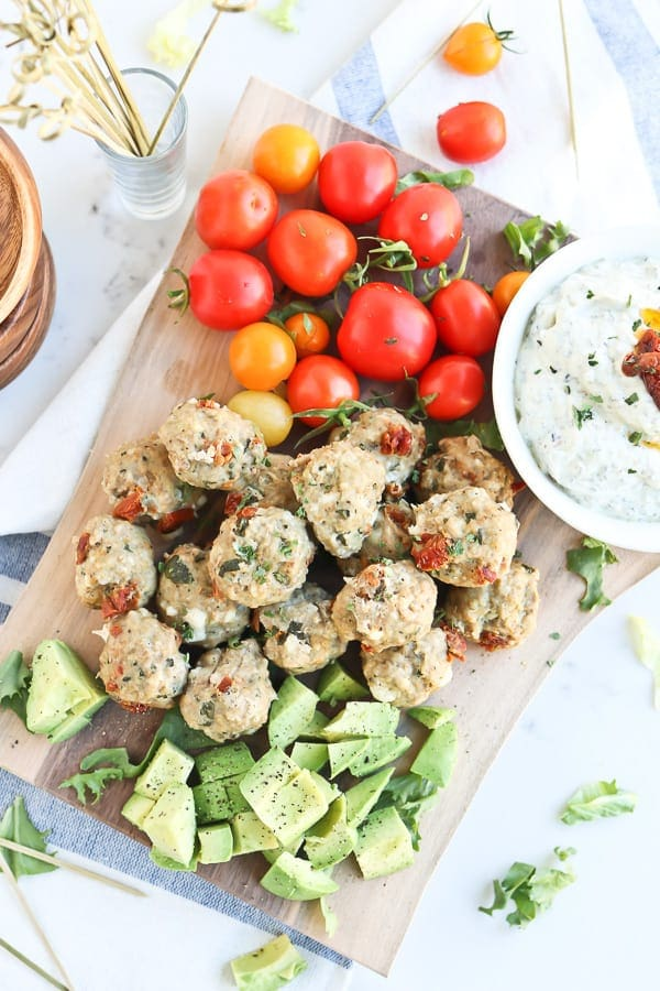 Instant Pot Greek Meatballs