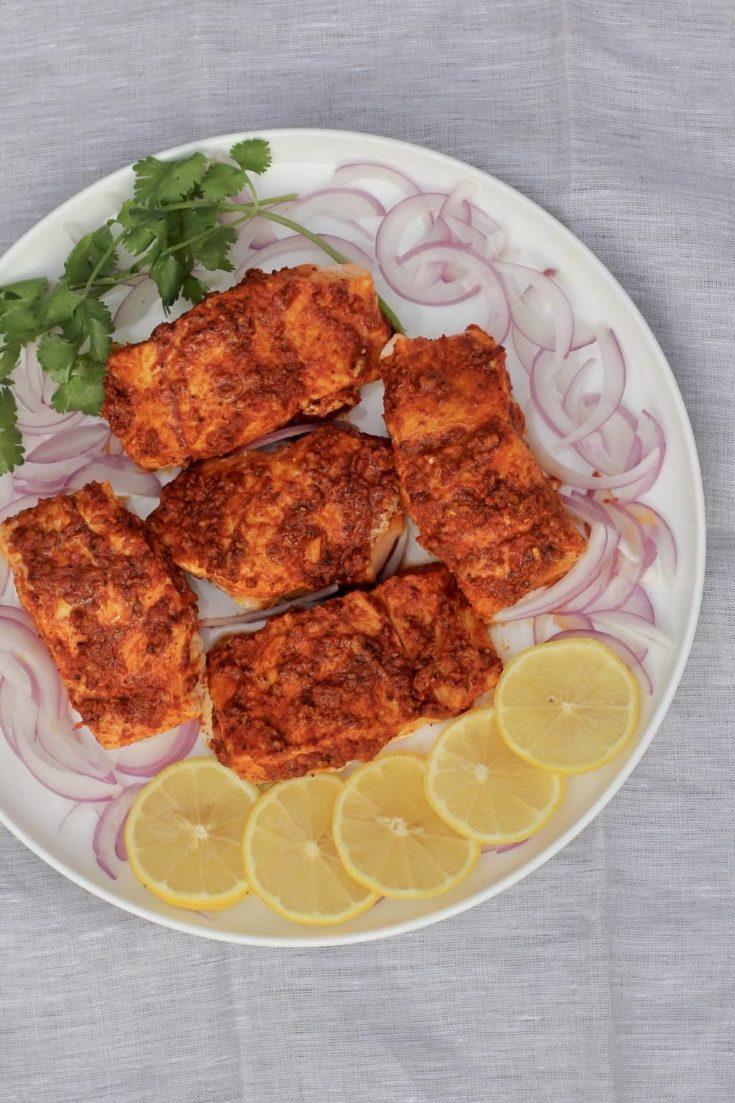 Instant Pot Tandoori Salmon