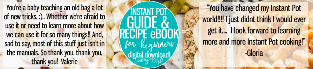 instant pot ebook for beginners