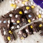 easter brownies
