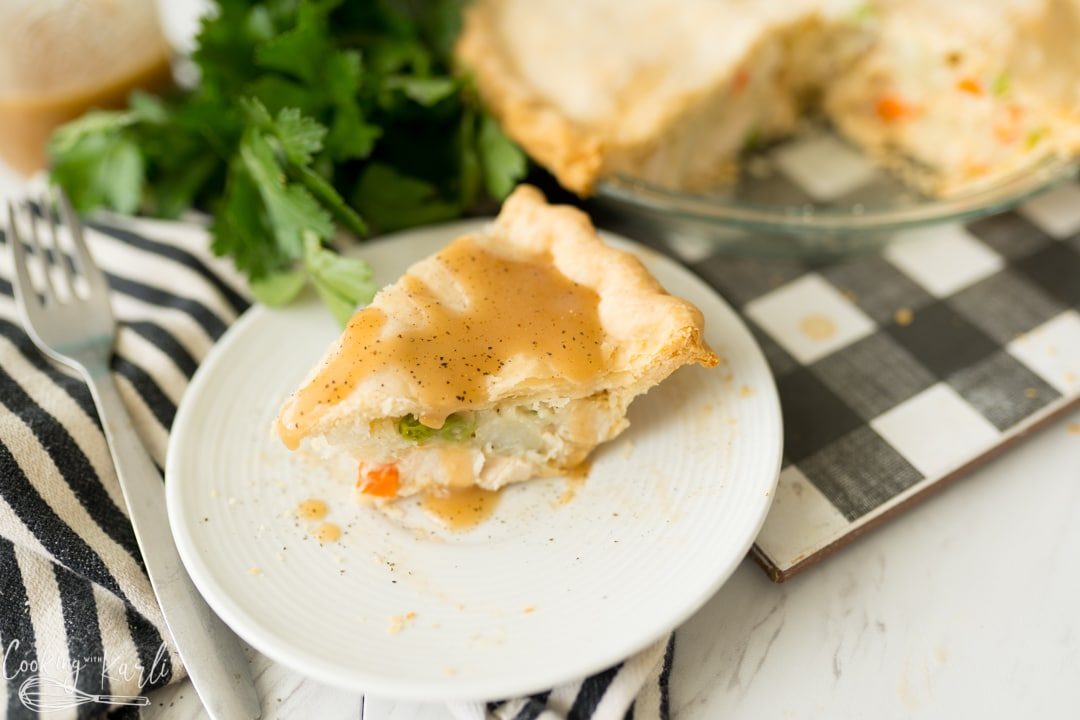 chicken pot pie, final photo