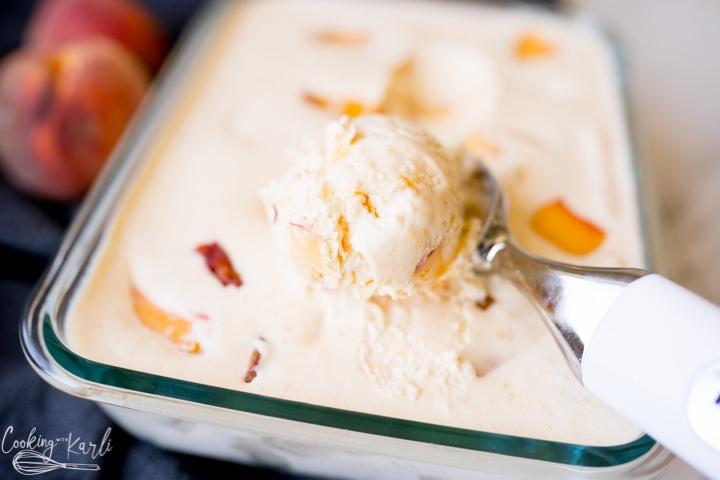 no churn peach ice cream recipe