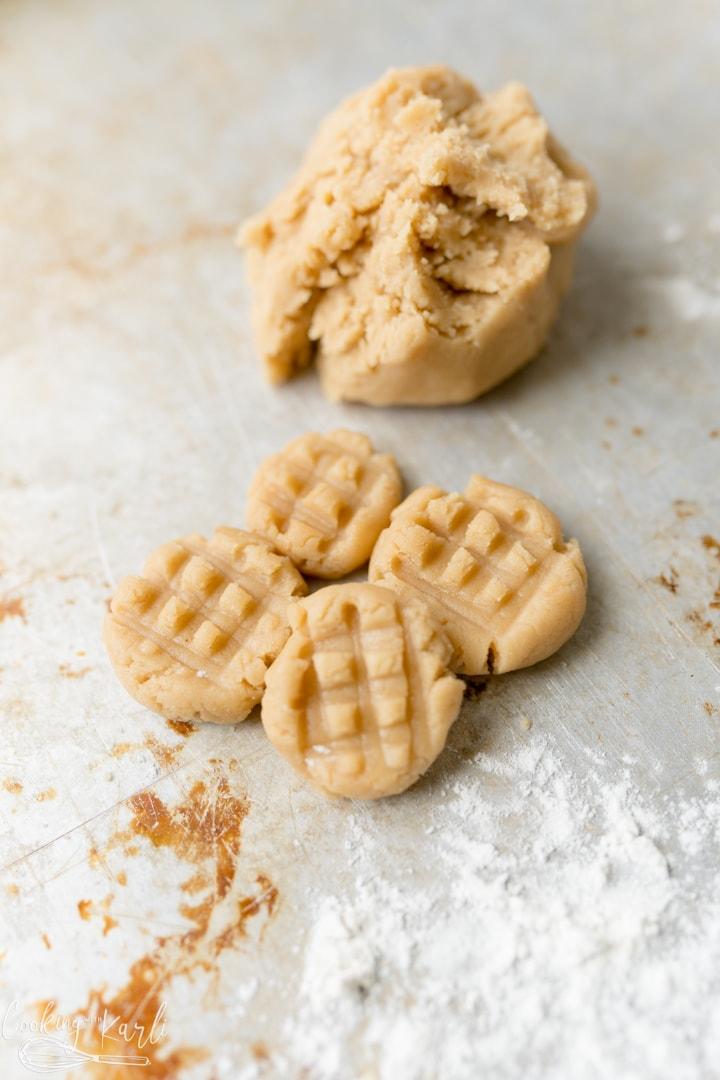 no bake egg free peanut butter cookie dough
