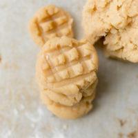 egg free peanut butter cookie dough