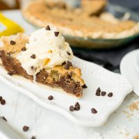 chocolate chip pie