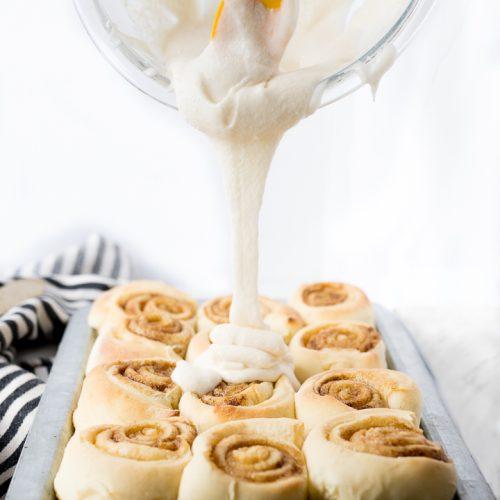 Cinnamon Roll Icing Recipe photo