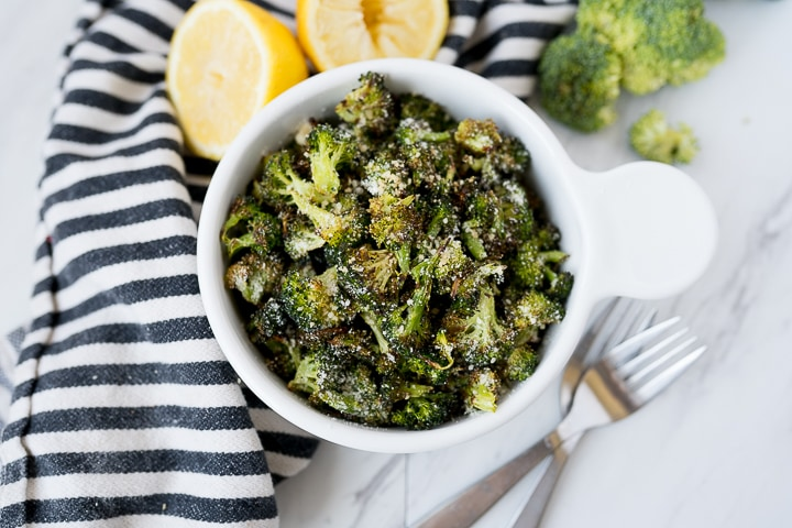 parmesan lemon broccoli