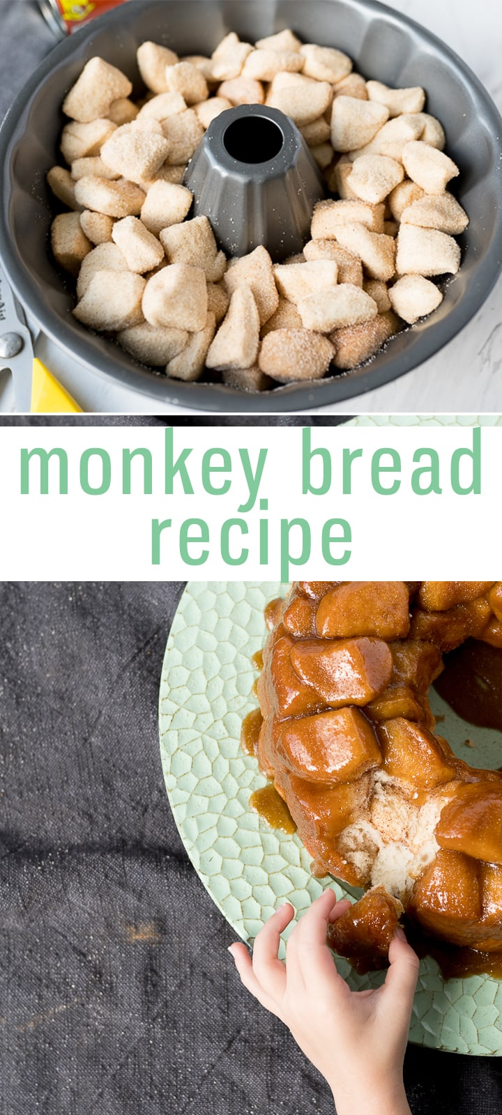 pin image for monkey bread