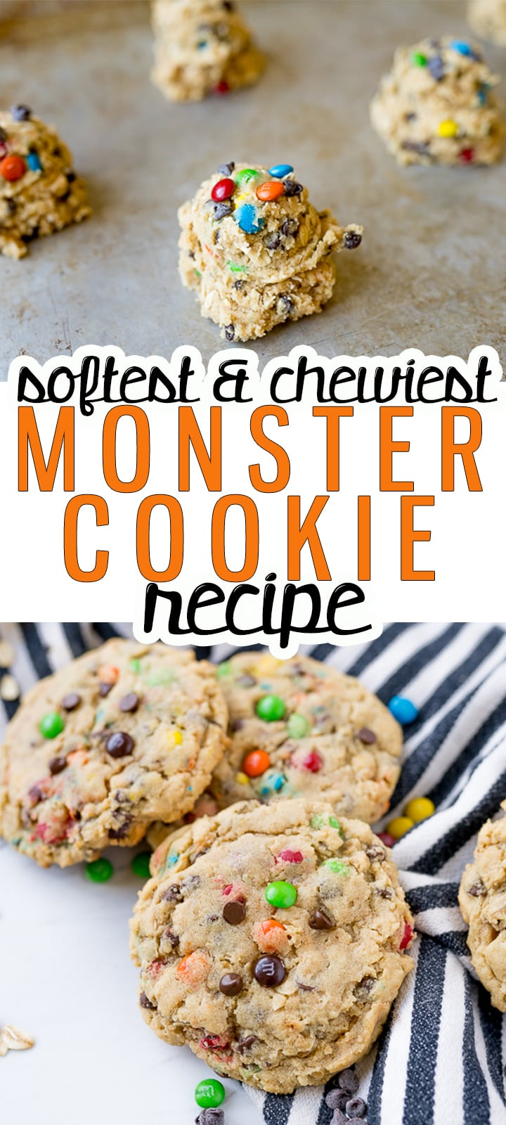 pin image for monster cookies