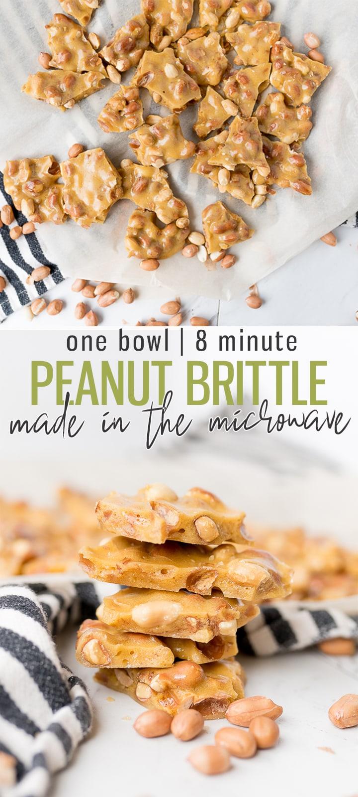 pin image for peanut brittle recipe