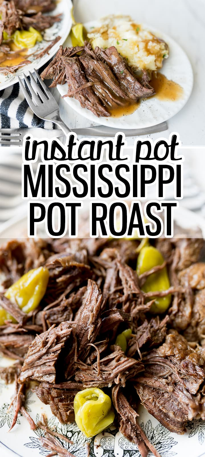 Pin image for Mississippi pot roast Instant Pot